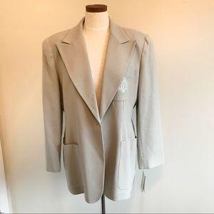 Christian Dior Vintage gray blazer NWT